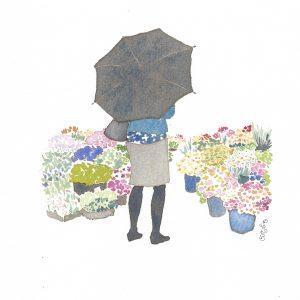 Flores / Loreak / Flowers. Acuarelas / Akuarelak / Watercolors